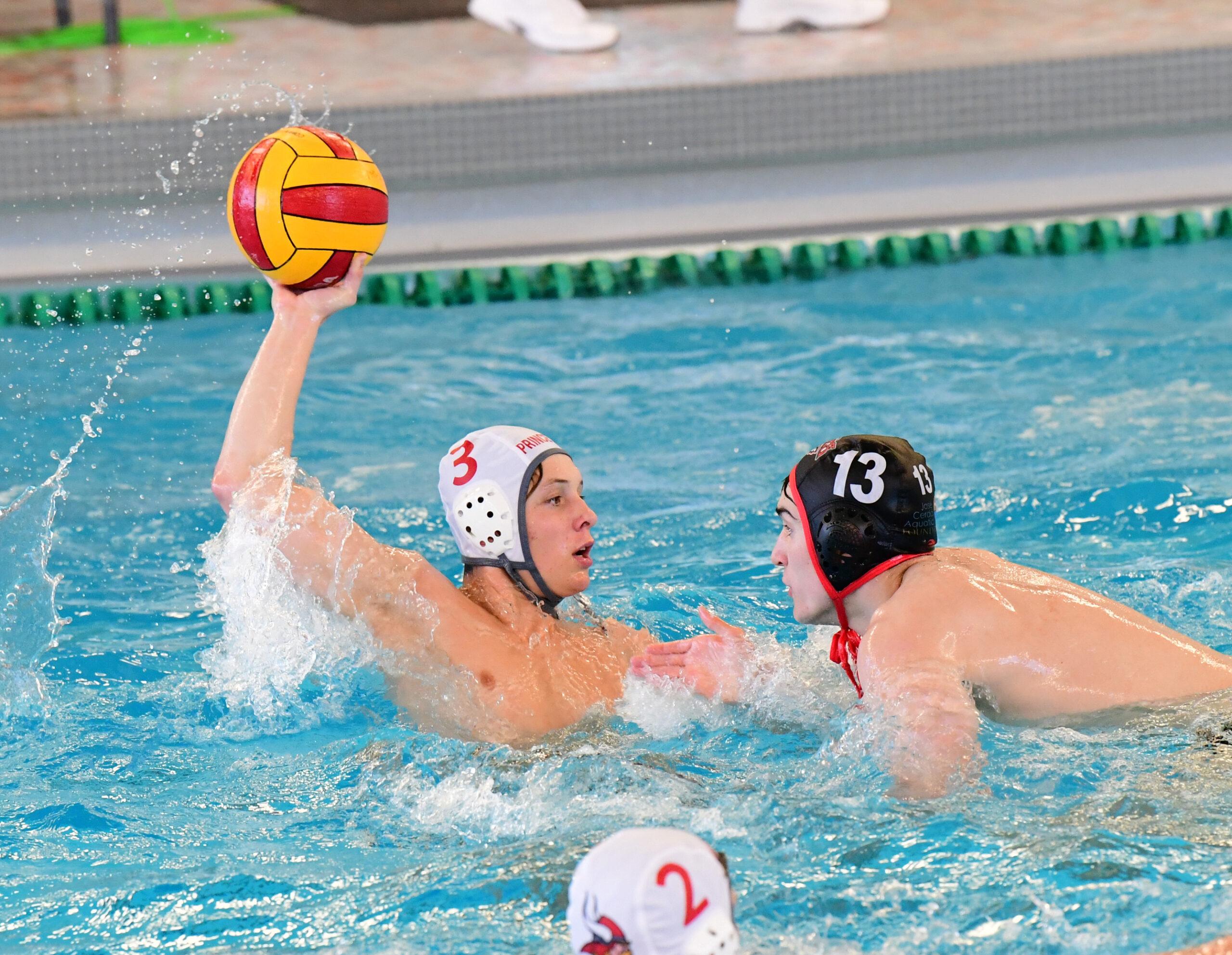 2021 Milford vs. Princeton Ohio South Boys Region Water Polo Semifinal