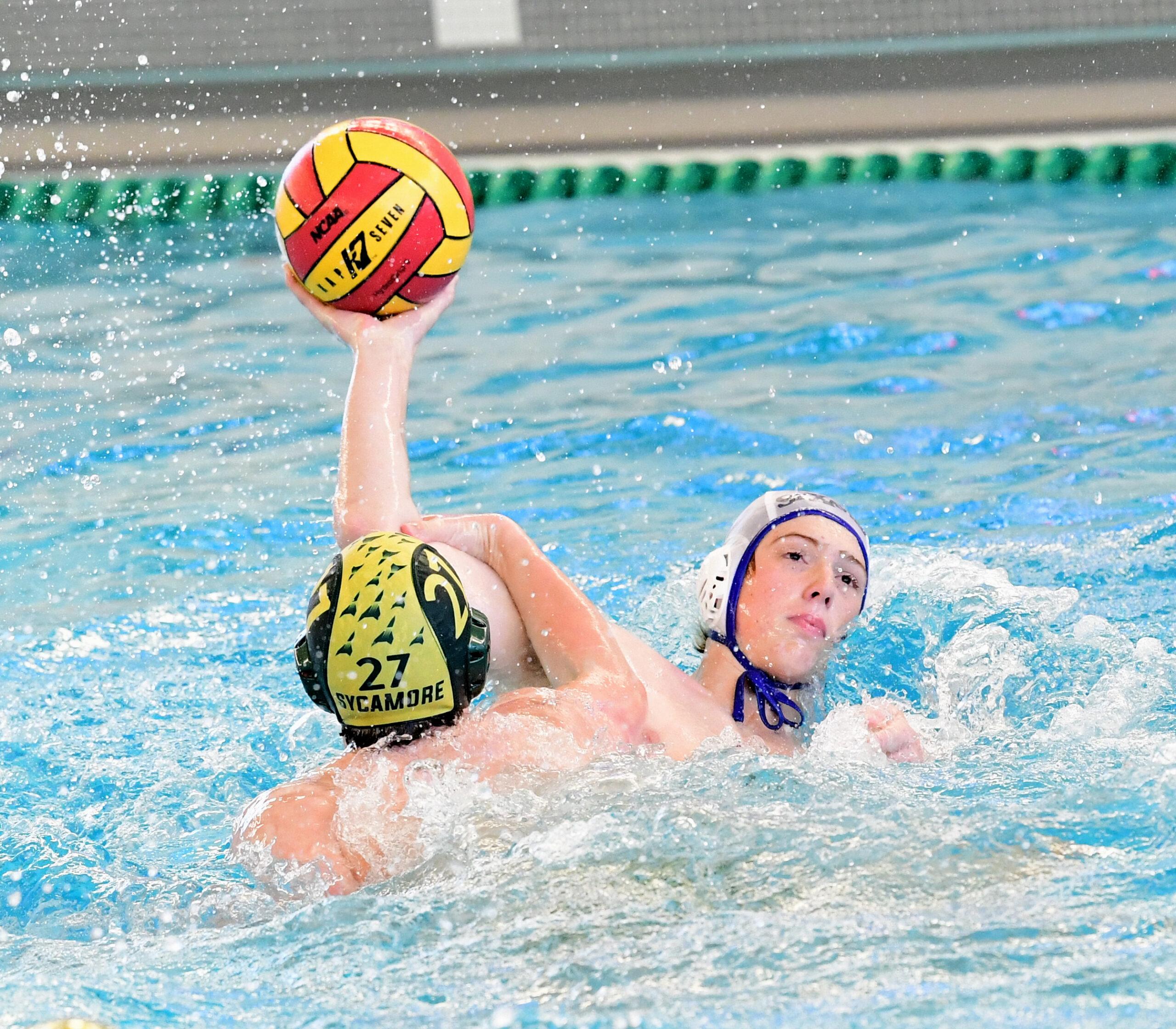 2021 St. Xavier vs. Sycamore Ohio South Boys Region Water Polo Semifinal